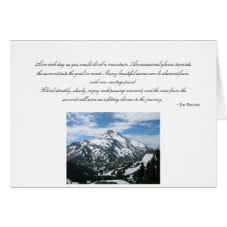 Mt. Jefferson Greeting Card