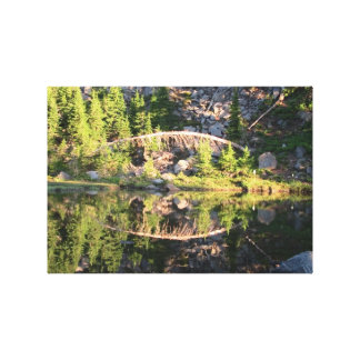 Mt Jefferson Oregon Landscape Skyscape Waterscape Canvas Print