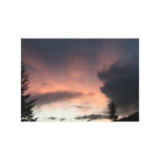 Mt Jefferson Oregon Landscape Skyscape Waterscape Stretched Canvas Prints