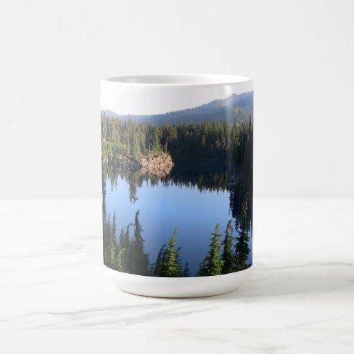 Mt Jefferson Oregon Landscape Skyscape Waterscape Coffee Mugs