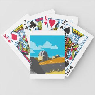 Mt John Observatory Lake Tekapo WPA Bicycle Playing Cards