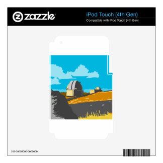 Mt John Observatory Lake Tekapo WPA Decals For iPod Touch 4G
