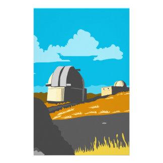 Mt John Observatory Lake Tekapo WPA Stationery