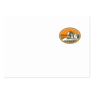 Mt John University Observatory Retro Business Card Templates