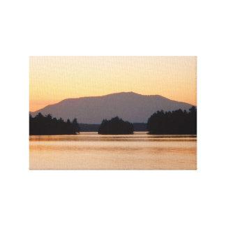 Mt. Katahdin Maine Impresión En Lienzo