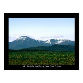 Mt. Katahdin Maine Postales
