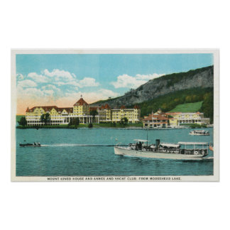 Mt Kineo House, Annex, and Yacht Club Posters