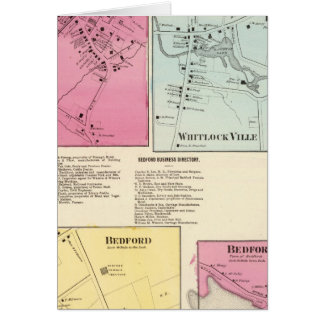 Mt Kisco, Katonah, Whitlock Ville, Bedford Card