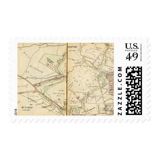 Mt. Kisco, New York 2 Stamp