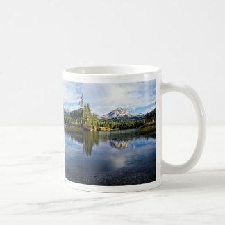 Mt. Lassen From Manzanita Lake Coffee Mug
