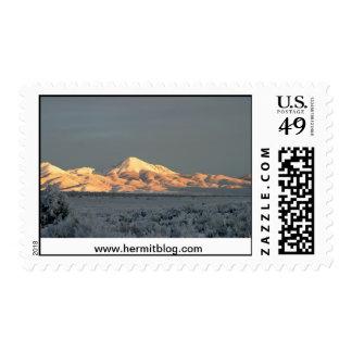 Mt. Lindsey Morning Postage Stamp