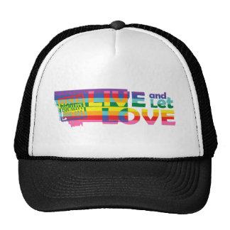 MT Live Let Love Trucker Hat