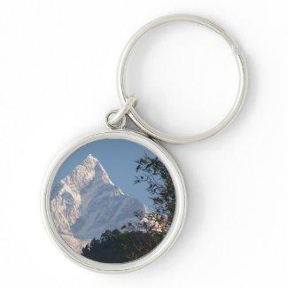 Mt. Machapuchare, Nepal Keychains