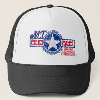 MT MADE IN THE USA PATRIOTIC MEDICAL TECHNOLOGIST TRUCKER HAT