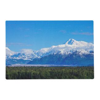 Mt majestuoso McKinley Tapete Individual