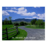 Mt. Mansfield, Stowe, Vermont Posters