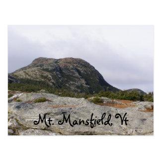 Mt. Mansfield, Vt Postcard