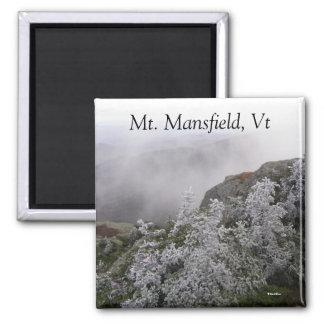 Mt. Mansfield, Vt Refrigerator Magnet