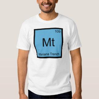 Mt - Mariana Trench Chemistry Element Symbol Tee