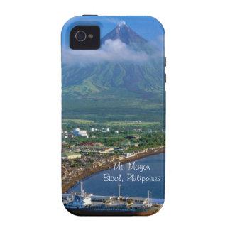 Mt. Mayon iPhone 4/4S Fundas