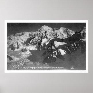 Mt. McKinley Alaska 1910 Poster