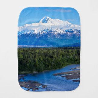 Mt. McKinley Alaska Baby Burp Cloth