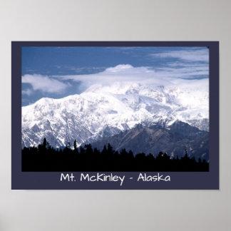 Mt. McKinley, Alaska Poster