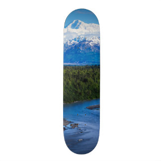 Mt. McKinley Alaska Skateboard