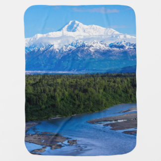 Mt. McKinley Alaska Stroller Blanket