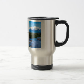 Mt. McKinley Alaska Travel Mug