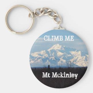 MT MCKINLEY CLIMB ME KEYCHAIN