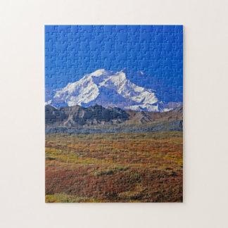 Mt . McKinley Denali National Park , Alaska Jigsaw Puzzle