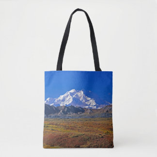 Mt . McKinley Denali National Park , Alaska Tote Bag