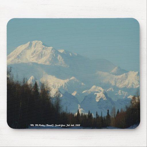 Mt. McKinley (Denali), South face, Fe... Mouse Pad