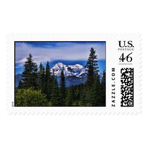 Mt. McKinley Large Postage stamp