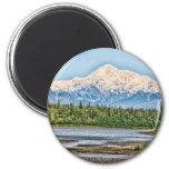Mt McKinley Refrigerator Magnet