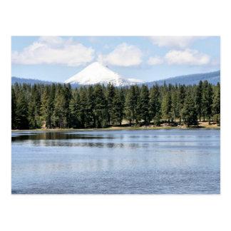 Mt McLoughlin - Klamath River Postcard