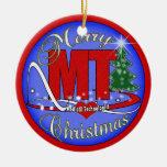 MT MEDICAL TECHNOLOGIST CHRISTMAS ORNAMENT LAB