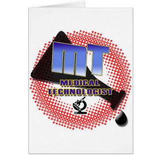 MT MEDICAL TECHNOLOGIST Explosion Beaker Card