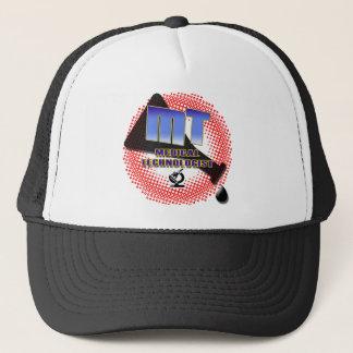 MT MEDICAL TECHNOLOGIST Explosion Beaker Trucker Hat