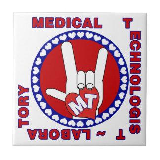 MT MEDICAL  TECHNOLOGIST I LOVE ASL  LABORATORY TILE
