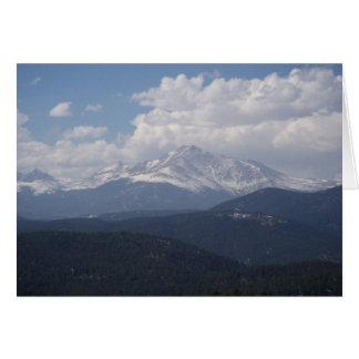 Mt Meeker Notecard Greeting Card