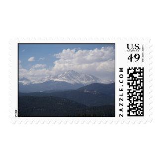 Mt. Meeker Postage Stamp