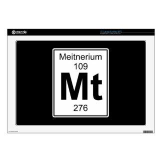 """Mt - Meitnerium 17"""" Laptop Decal"""