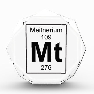 Mt - Meitnerium Award