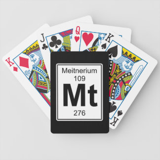 Mt - Meitnerium Bicycle Playing Cards