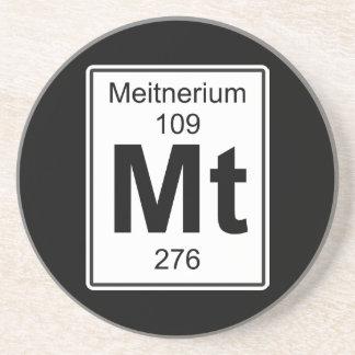 Mt - Meitnerium Drink Coaster