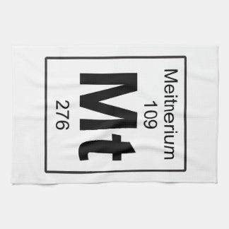 Mt - Meitnerium Hand Towel