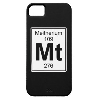Mt - Meitnerium iPhone SE/5/5s Case