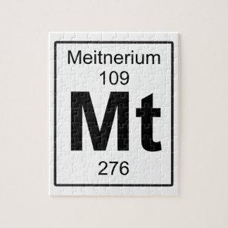 Mt - Meitnerium Jigsaw Puzzle